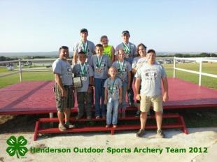 Archery Team 2012