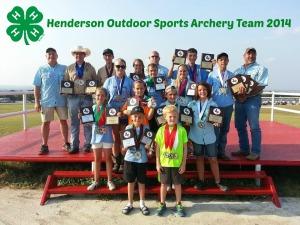 Archery Team 2014