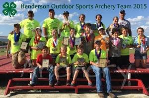 Archery Team 2015